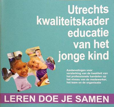 Boe cover: Utrechts kwaliteitskader voor educatie van het jonge kind